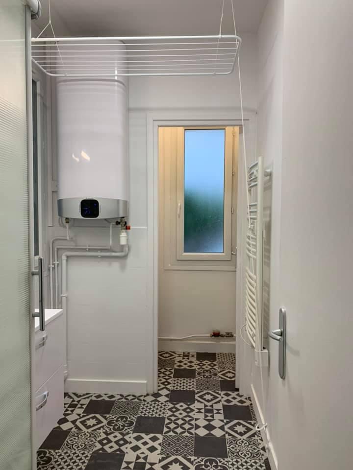 Rénovation appartement – salle d'eau