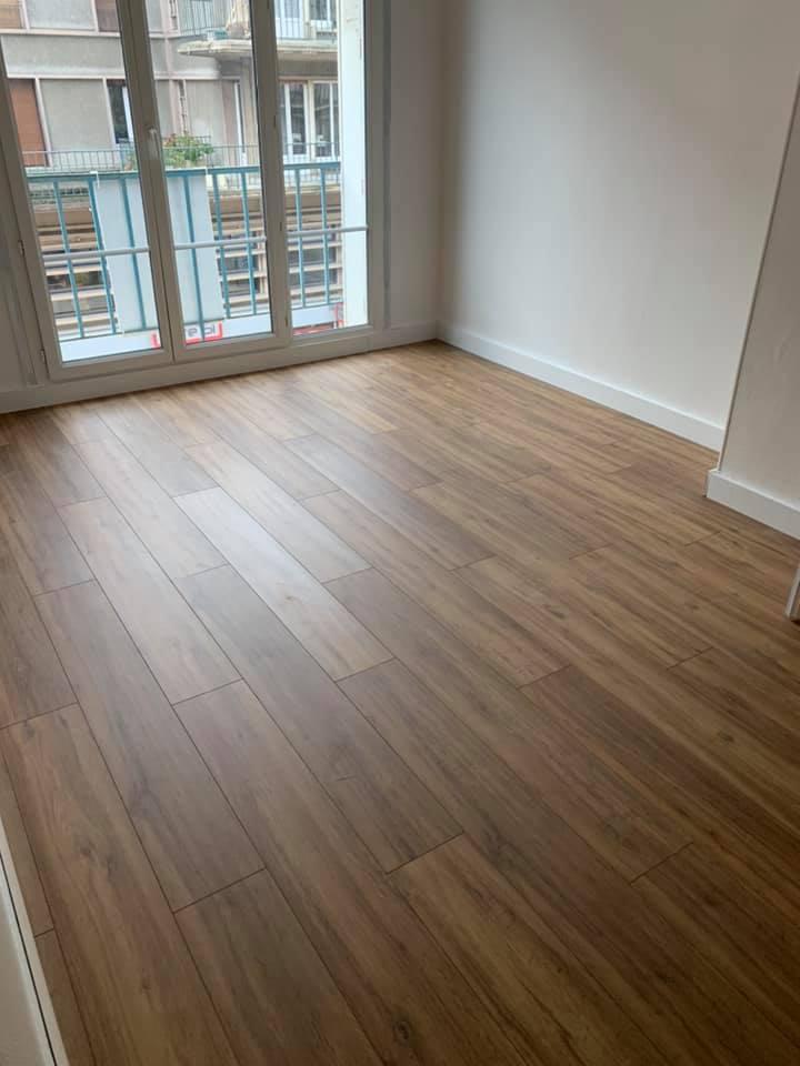 Rénovation appartement – pose parquet