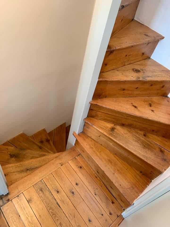 Rénovation escalier en bois